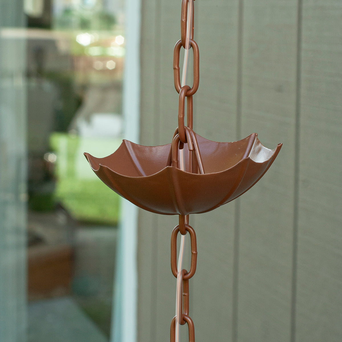 Umbrella Solar Illuminated Rain Chain