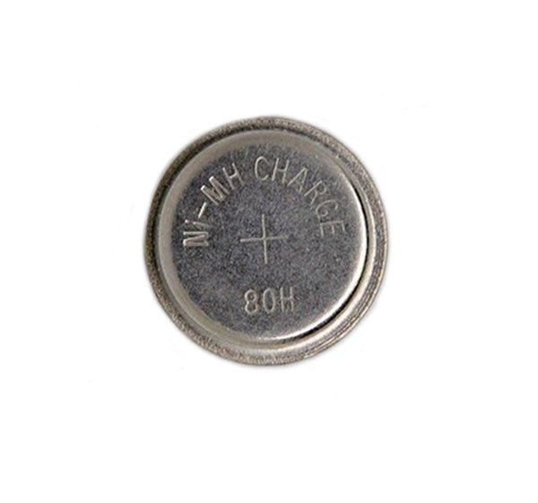 Replacement Battery 1.2v 80mh NI-MH Rechargeable Button Cell