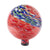 "10"" Red Swirl Illuminarie Gazing Globe"
