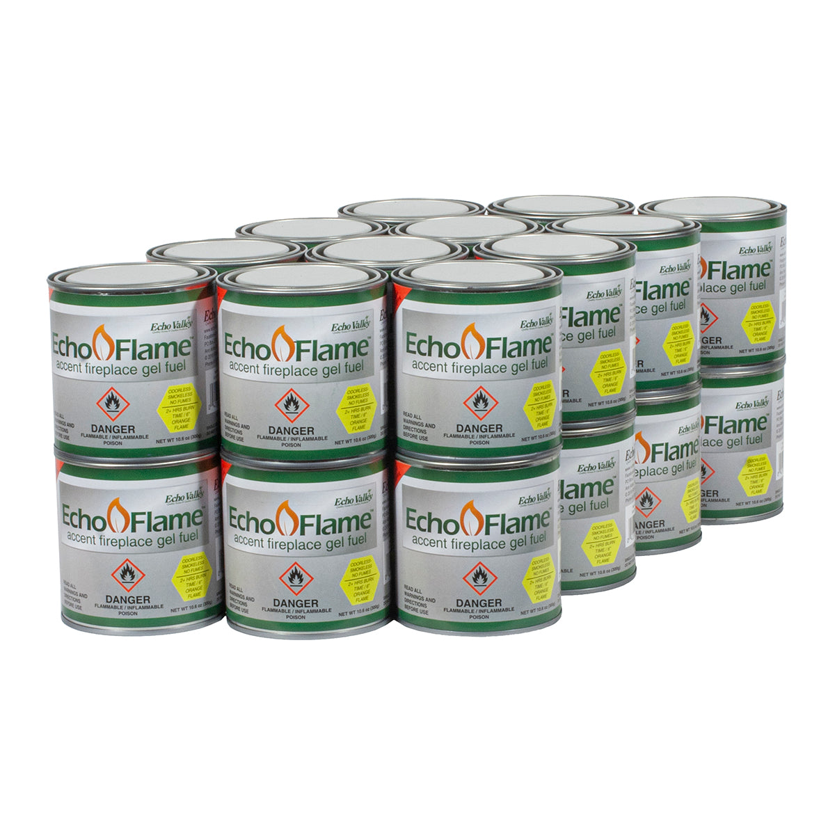 EchoFlame Gel Fuel (24 can set)