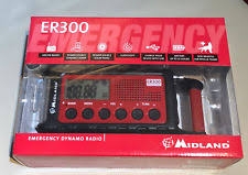 MIDLAND MULTIPLE POWER SOURCE / EMERGENCY RADIO