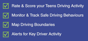 Besafe Gps 3G Safety Coach (Wired) Includes 12 Months Subscription - Teen Coach Accessories