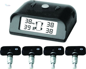 Tyre Pressure Monitoring System - Internal 4 Sensors - Safety Essentials
