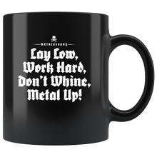 "Metalosophy ""Lay Low"" Mug"