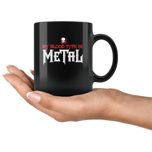 My Blood Type is Metal Mug