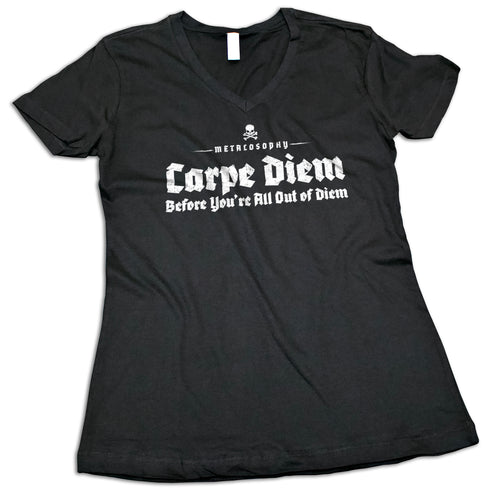 "Women's ""Carpe Diem"" V-Neck Shirt"
