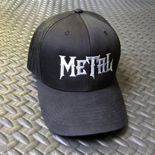 Metal Trucker Cap