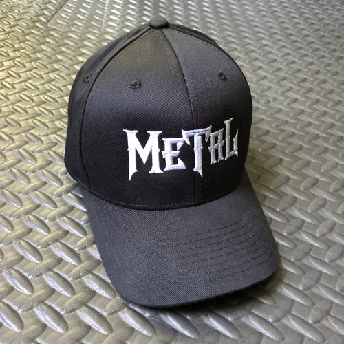 Metal Structured Twill Cap