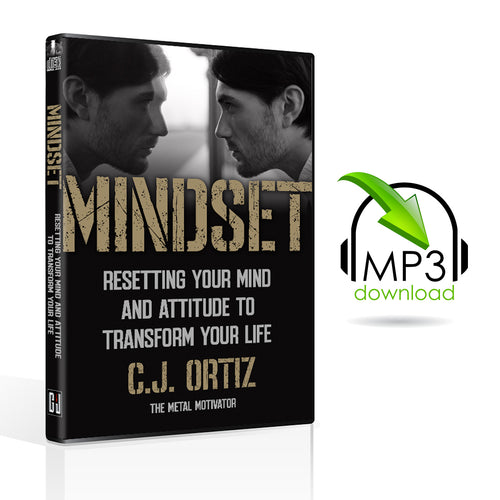 Mindset: Resetting Your Mind & Attitude to Transform Your Life (10 MP3s)