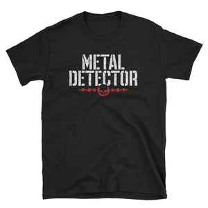 Metal Detector Short-Sleeve T-Shirt