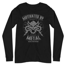 Women's Motivated By Metal Long Sleeve Tee