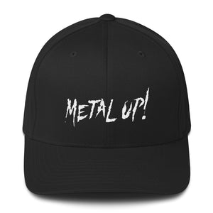 """Metal Up!"" Structured Twill Cap"
