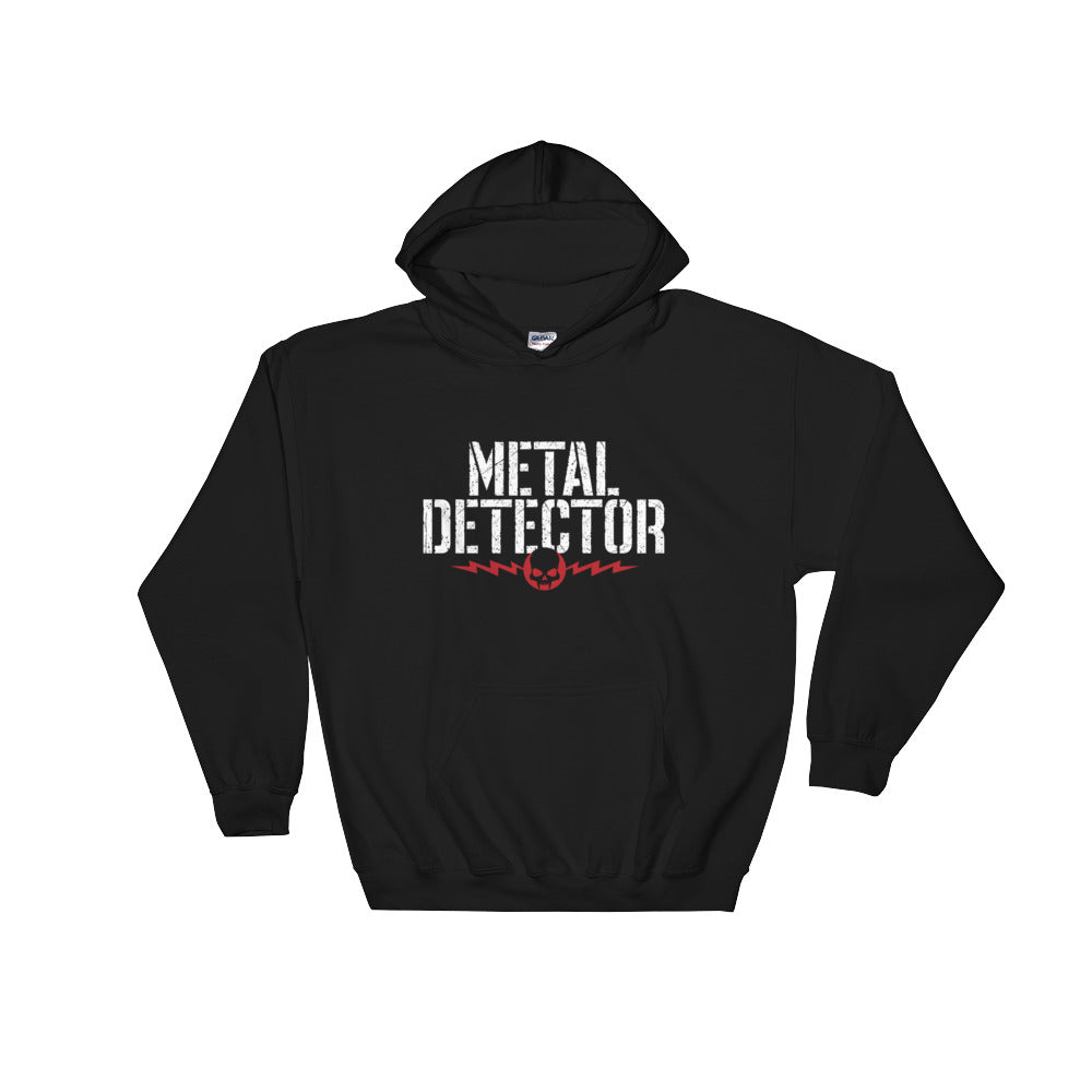 Metal Detector Hooded Sweatshirt