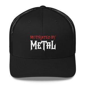 """Motivated by Metal"" Trucker Cap"