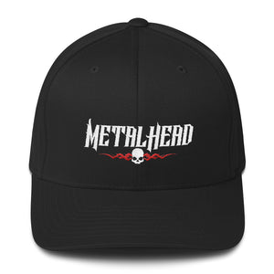"""Metal Head"" Structured Twill Cap"