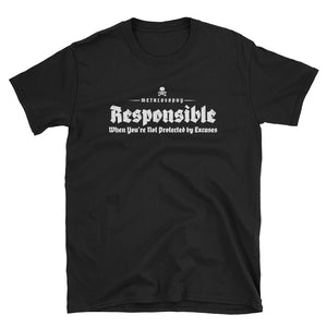 "Metalosophy ""Responsible"" Short-Sleeve T-Shirt"