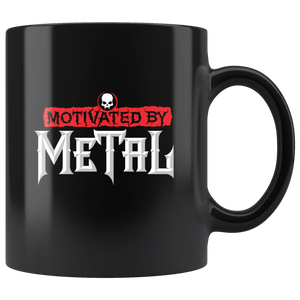 Motivated by Metal Mug