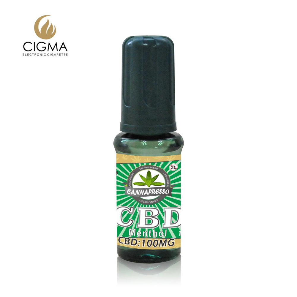 Cannapresso CBD Vape Eliquid | Full Spectrum | 15ml | Menthol | 100mg 300mg 500mg 1000mg