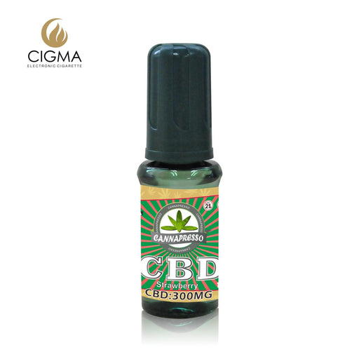 Cannapresso CBD Vape Eliquid | Full Spectrum | 15ml | Strawberry | 300mg 500mg 1000mg