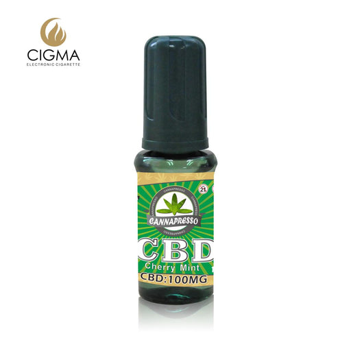 Cannapresso CBD Vape Eliquid | Full Spectrum | 15ml | Cherry Mint | 100mg 300mg 500mg 1000mg