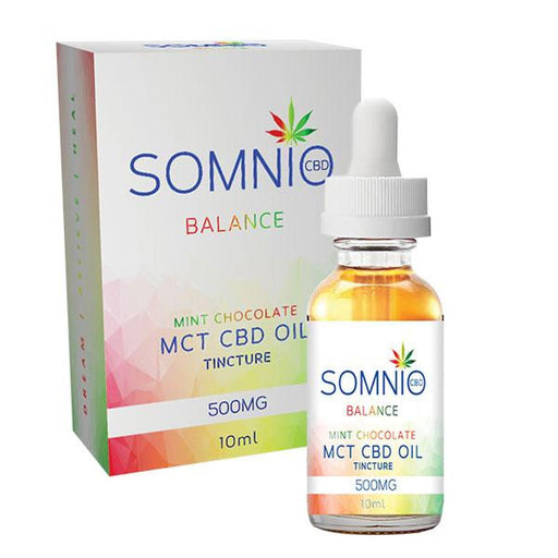 Somnio Balance MCT CBD Oil Tincture: Mint Chocolate 500mg 10ml