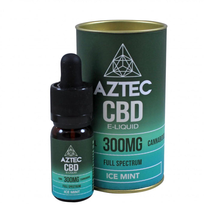 Aztec CBD Ice Mint - 300mg 10ml