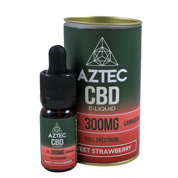 Aztec CBD Sweet Strawberry - 300mg 10ml