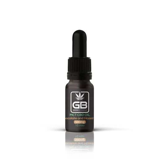 George Botanicals MCT CBD Oil - Chocolate and Hazelnut 500mg 10ml