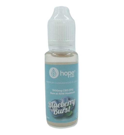 Hope CBD Blueberry Burst 20ml - 1000mg