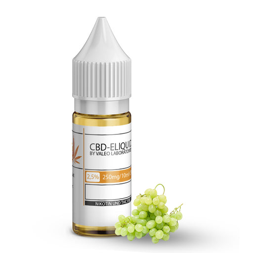 Valeo CBD E Liquid 250mg 2.5% 10ml Grape