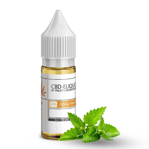 Valeo CBD E Liquid 250mg 2.5% 10ml Peppermint