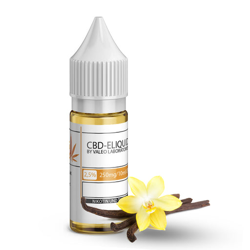Valeo CBD E Liquid 250mg 2.5% 10ml Vanille