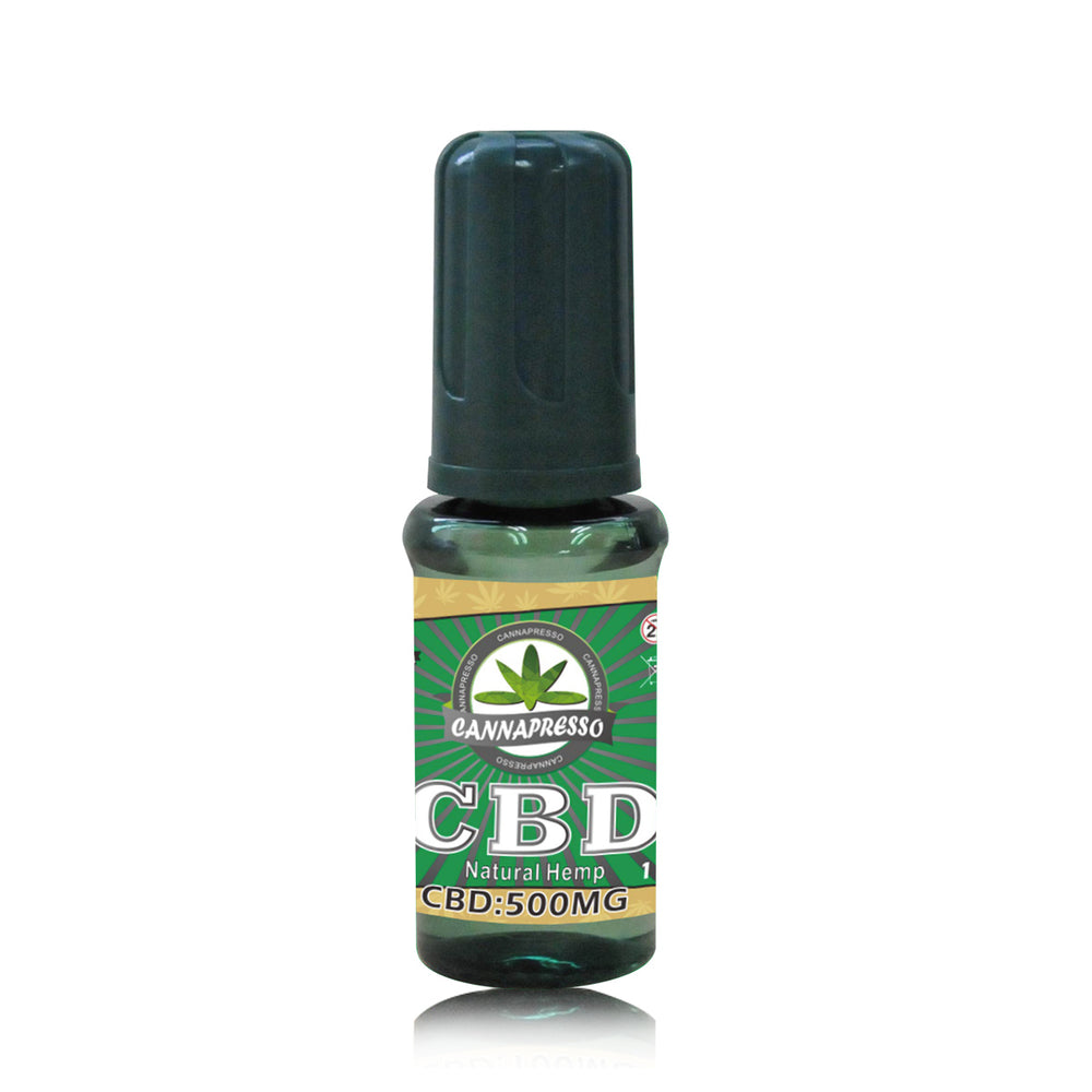Cannapresso Vape liquid 10ML 500MG Natural Hemp