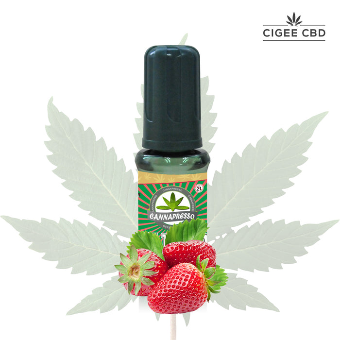 Cannapresso Vape liquid 30ML 1000MG Strawberry