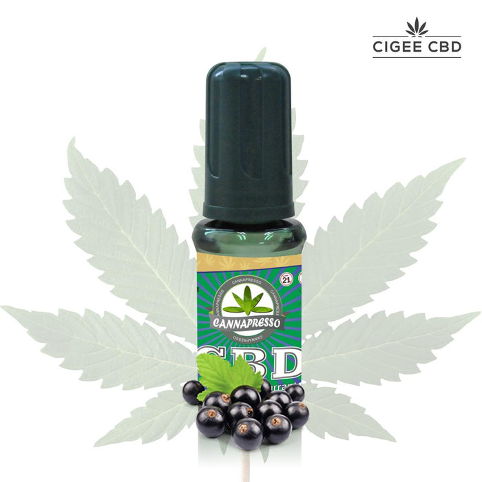 Cannapresso Vape liquid 30ML 1000MG Grape Blackcurrant