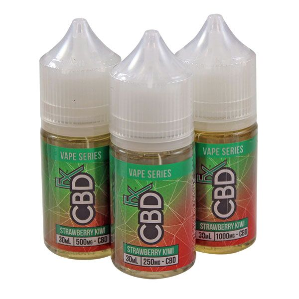 CBD +FX Vape Series Strawberry Kiwi E liquid Vape Juice 30ml - 250mg 500mg 1000mg