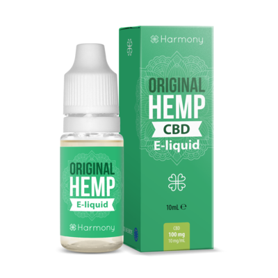 Harmony Original Hemp CBD Vape E Liquid 10ml - 30mg 100mg 300mg 600mg
