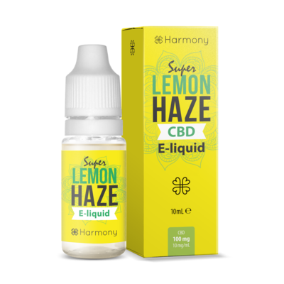 Harmony Super Lemon Haze CBD Vape E Liquid 10ml - 30mg 100mg 300mg 600mg