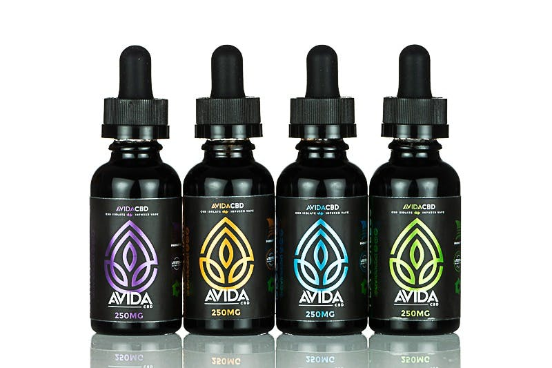 Avida CBD Eliquid Vape Berry Grape 30ml - 250mg 500mg