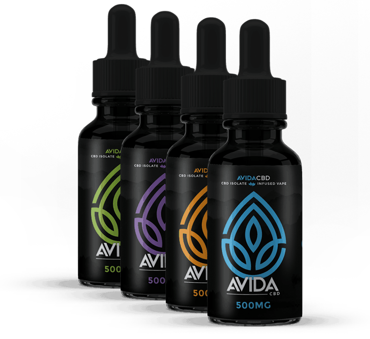 Avida CBD Eliquid Flavorless 30ml - 250mg 500mg 1000mg