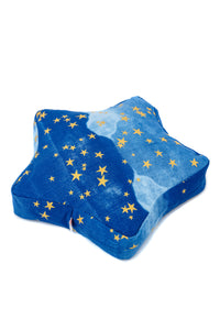 Star Pouf Gold Stars