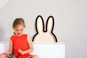 Miffy Black LED -tunnelmavalaisin