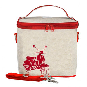 Pieni Red Vespa lounaskassi