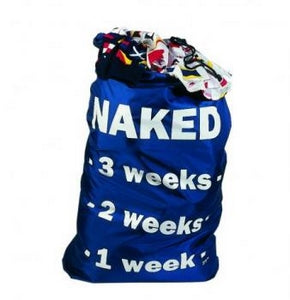 Naked Laundry Bag