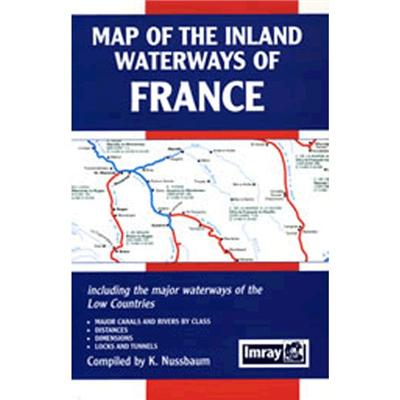 Inland Waterways of France Map