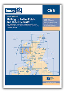 C66 Mallaig to Rudha and Outer Hebriides Chart