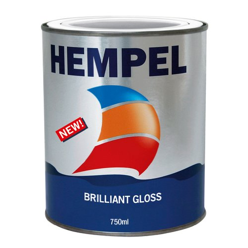 Hempel Brilliant Gloss - Pure White 750ml