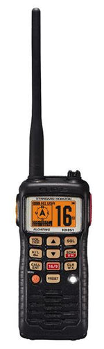 HX851E Handheld VHF Radio with GPS and DSC