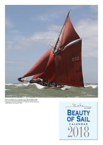 Beken Beauty of Sail Calendar 2018