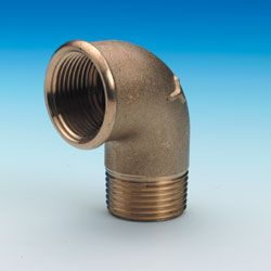 "1/2"" 90 Degree Male/Female elbow"